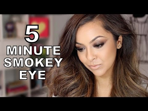 Easy 5 Minute Smokey Eye Tutorial - TrinaDuhra