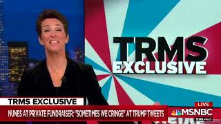 Maddow Reveals Tapes Of Devin Nunez Sharing His Thoughts on President's Twitter Habits