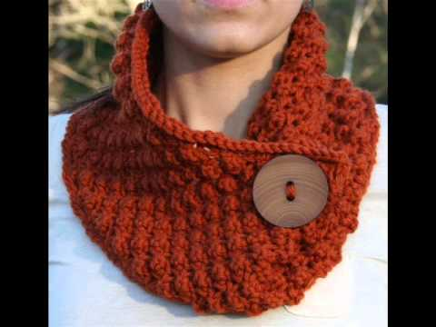 Free Knitting Patterns Neck Warmers Cowls : Redeemed - Neck Warmer Knitting Pattern Presentation - YouTube