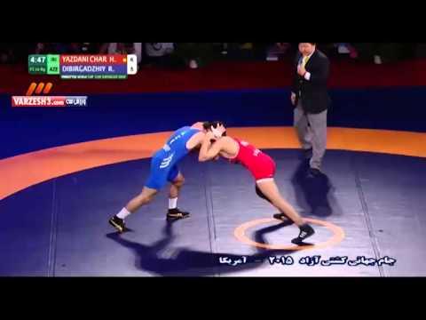 پیروزی حسنیزدانیبرابر حریفآذربایجان؛ ۷۰کیلوگرم