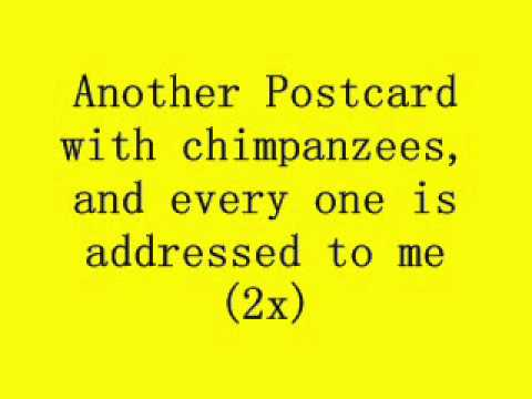 Barenaked Ladies - Another Postcard (Lyrics)