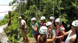 Jamaica Zip Line Tour