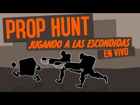 Garrys Mod I Prop Hunt I Jugando a las escondidas con los Humildes