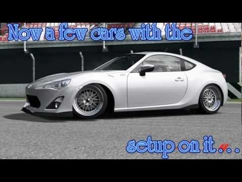 Slammed car setup in forza 4 [tutorial]