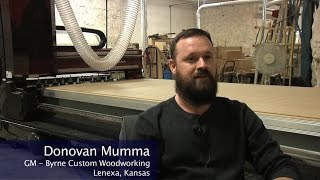 Cut Center Impressions - Bednark Inc and Byrne Custom Woodworking