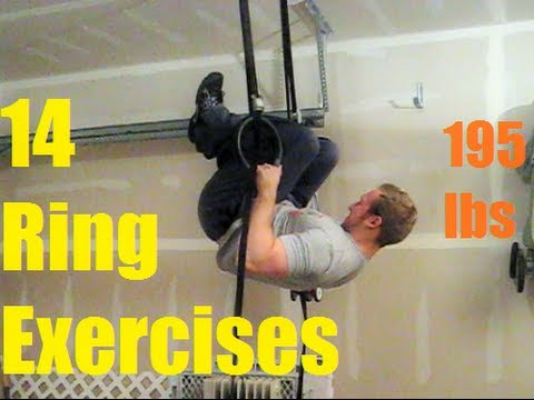 Crossfit Olympic Ring Exercises