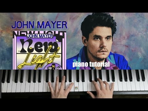Download Lagu  New Light | piano tutorial | John Mayer Mp3 Free
