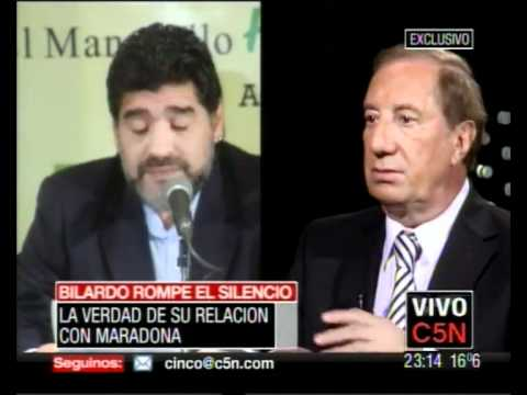 C5N ESTA NOCHE - CARLOS BILARDO SOBRE SU RELACION CON DIEGO MARADONA