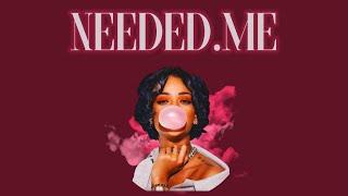 Rihanna Needed Me Remix ft J Cole
