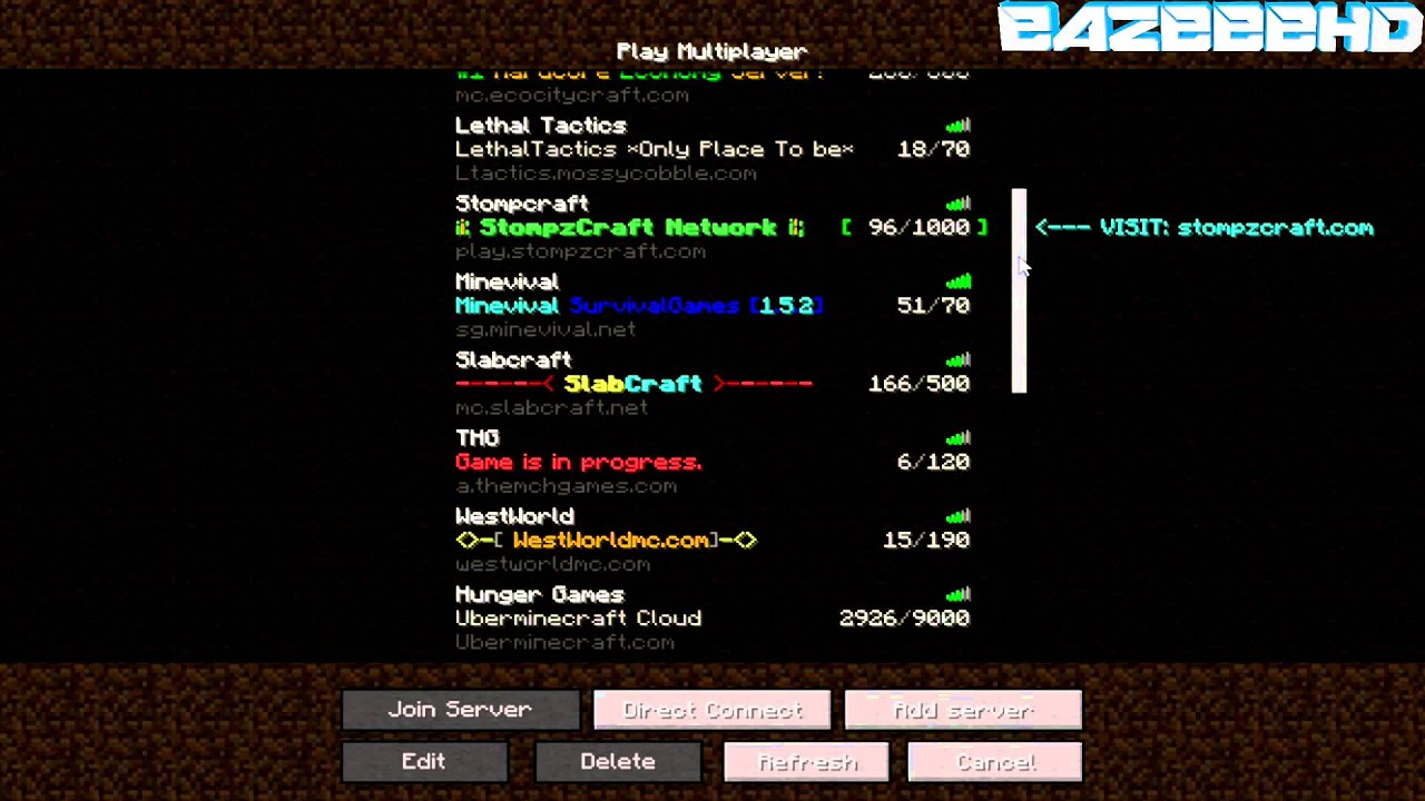 how to find your minecraft server ip