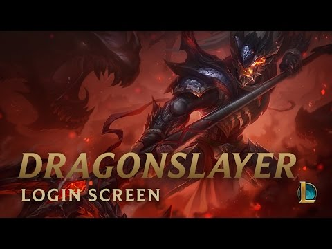 Dragonslayer Xin Zhao | Login Screen - League of Legends