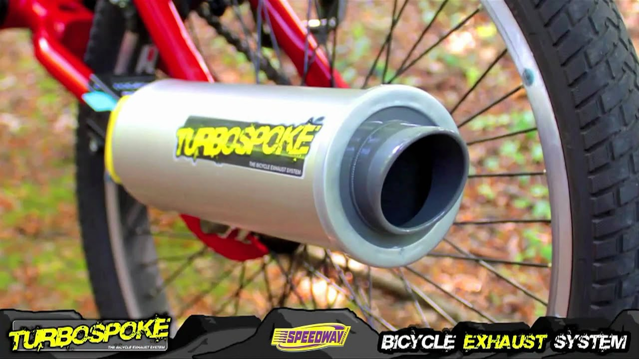 turbospoke the bicycle exhaust system youtube. Black Bedroom Furniture Sets. Home Design Ideas