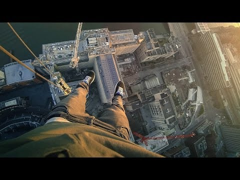 James Kingston Jumps Insane Gap to Hang Off 150m-High South Bank Tower Crane | On the Edge, Ep. 2