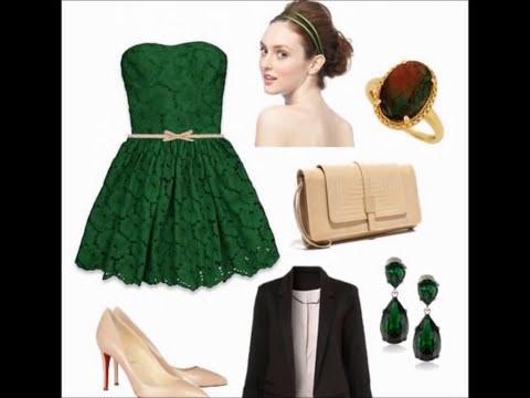 Como Combinar el Verde Esmeralda