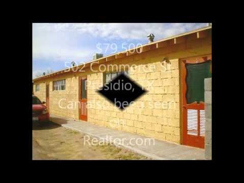 502 Commerce St.  Presidio, TX  House For Sale