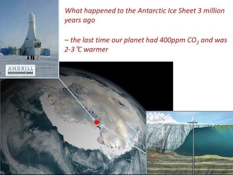 Melting Ice, Rising Seas (Part Three) - Tim Naish, Director of the Antarctic Research Centre