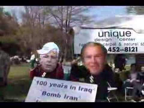 Bush and Mccain Video