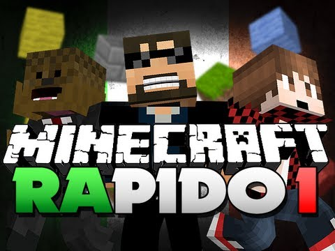 Minecraft RAPIDO PARKOUR!! Pt. 1 - BREAKING BLOCKS!! (ft. Mitch and Jerome)