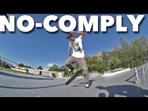 Amazing No-Comply Trick *Chris Haslam Inspired*