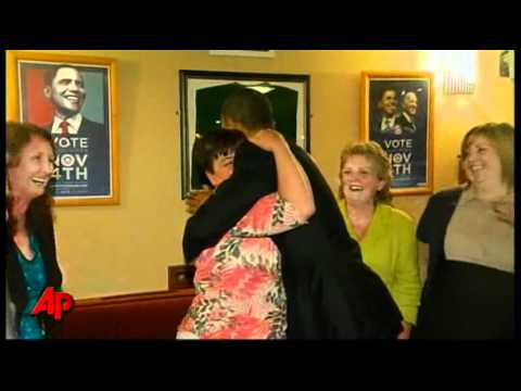 Raw Video: Obama Visits Irish Town, Has Guinness