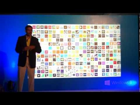 Windows 8 Launch Event Hyderabad with OS Demo & Features