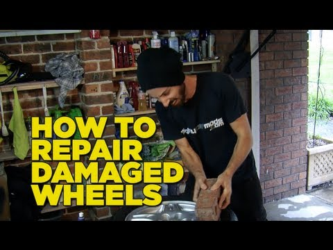 How To Repair Scratched & Guttered Wheels