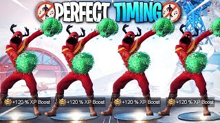 Fortnite - Perfect Timing Dance Compilation! #46 - (Season 7)