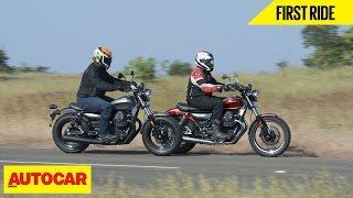 Moto Guzzi V9 Bobber & Roamer   First Ride   Autocar India
