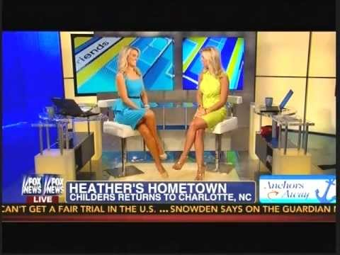Heather childers quot anchors away quot video from fox amp friends first