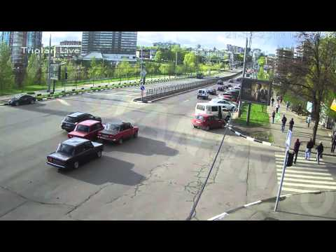 ДТП на перекрестке пр. Науки — ул. Минская (21-04-2016)