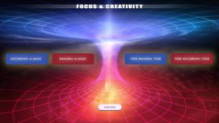 Focus Creativity Creative Thinking Visualisation Problem Solving Binaural Beats Iso Tones
