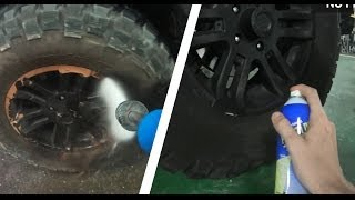 Plasti Dip Rims Wheels - How to, Durability test