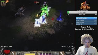 💢  Killing Ubers With a Sorceress - NO INFINITY - Diablo 2 💢