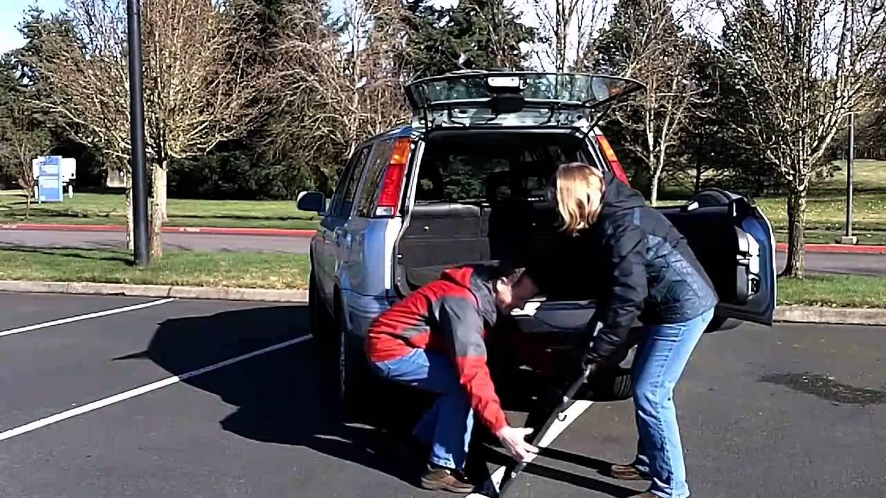 Honda Crv Picnic Table Youtube