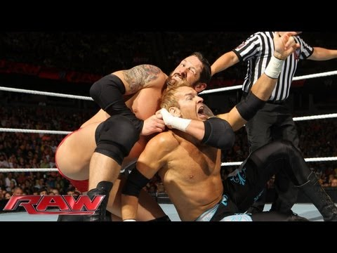 Raw - Christian vs. Wade Barrett: Raw, June 17, 2013