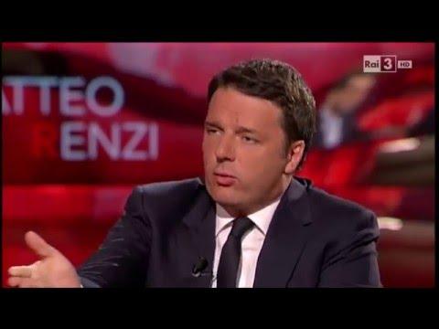 Matteo Renzi sui diritti civili - Che tempo che fa 08/05/2016