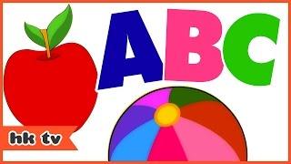 ABC Songs For Children   ABC Phonics Song   Nursery Rhymes   Hooplakidz TV
