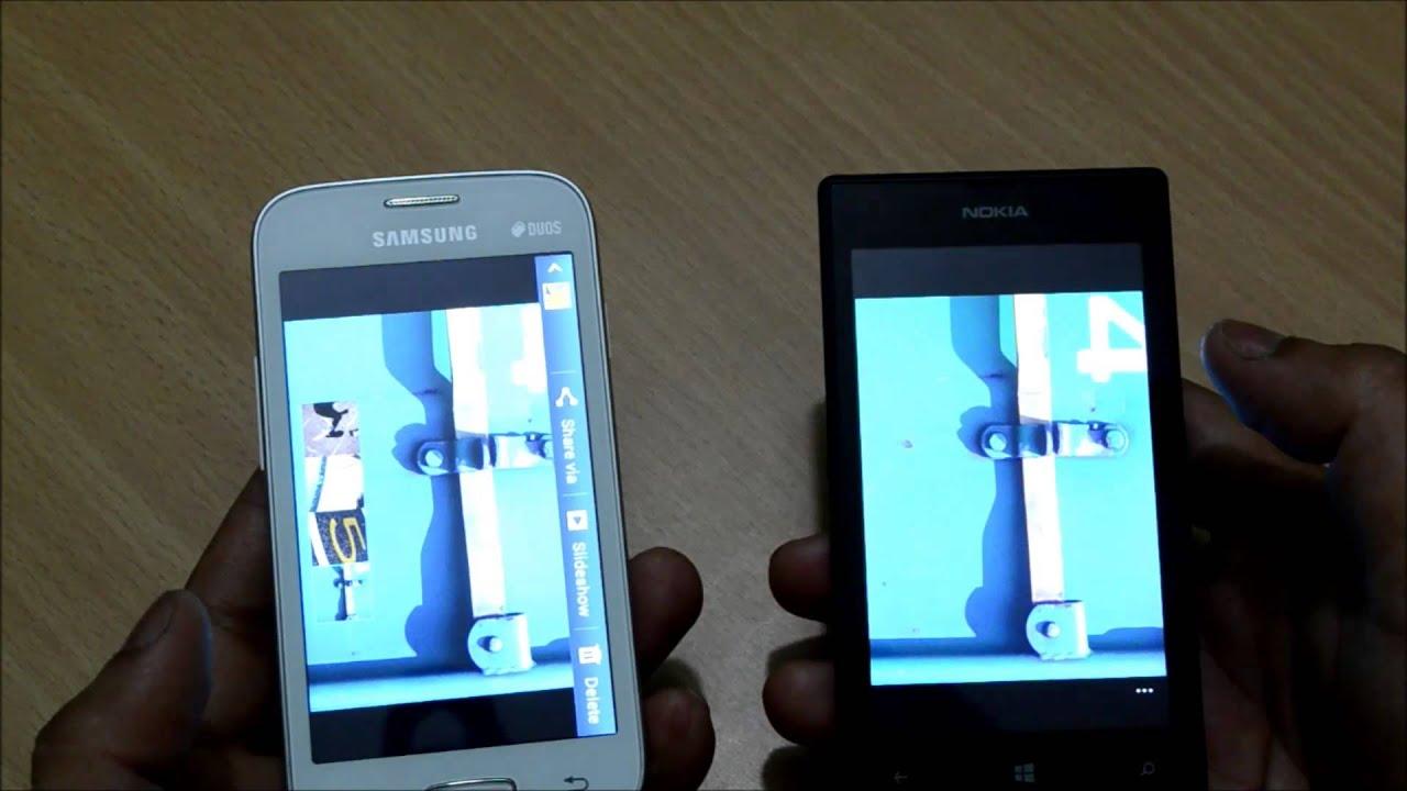 Nokia Lumia 520 vs Galaxy Star Pro - YouTube