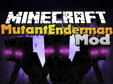 Minecraft Mods - Mutant Enderman Mod - New Boss and Item!
