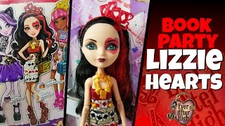 Book Party Lizzie Hearts Ever After High Review