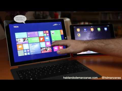 Análisis y comparativa iPad Air 2 vs Microsoft Surface Pro 3 en Español