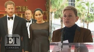 Ellen, Pink Defend Harry and Meghan