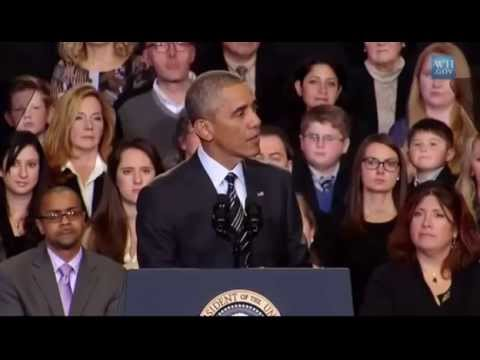 Only Native Americans Can Legitimately Object To Immigration. Barack Obama Speech
