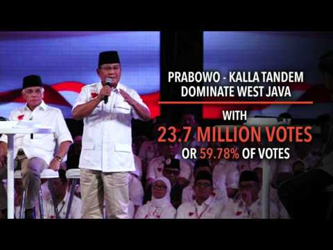 Tally shows Jokowi won Indonesian election