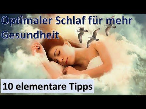10 Tipps für einen gesunden Schlaf ! WENIGER Krankheiten und BESSERE Psyche durch optimalen Schlaf