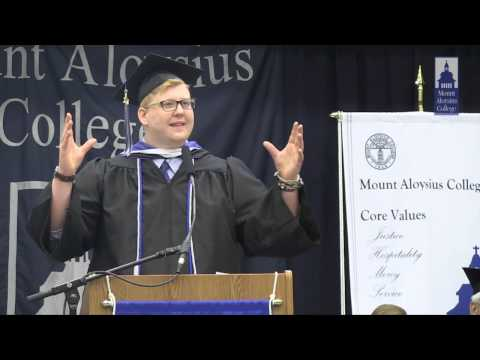 John Moist - Commencement Speech 2014 Mount Aloysius College