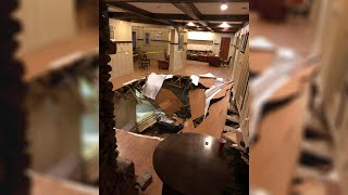 Dozens Injured When Floor Collapses At South Carolina Party   NBC Nightly News