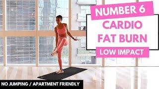 No.6 - Beginner Cardio HIIT Workout // NO JUMPING // NO EQUIPMENT