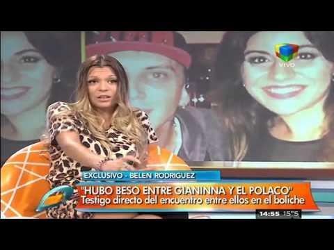 """""""Hubo beso entre Gianinna Maradona y el Polaco"""""""