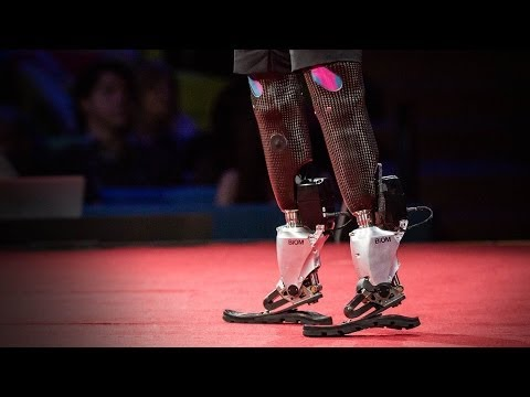 Hugh Herr: The new bionics that let us run, climb and dance